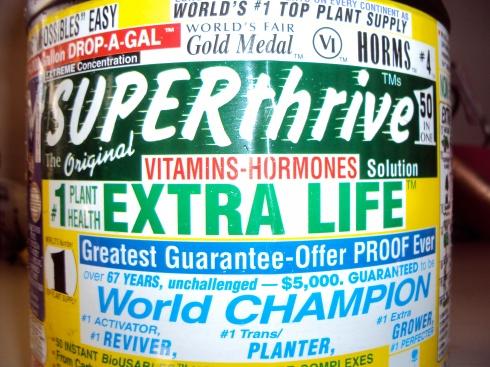 Liza the Plant Lady's Secret Weapon, Superthrive