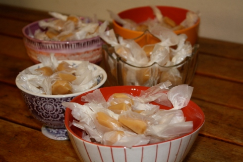 Good To Grow, Liza's photos, how to make soft caramel candy