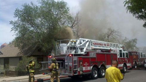 Good To Grow, Liza's photos, house fire in Albuquerque