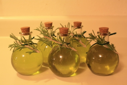 Good To Grow, Liza's photos, homemade rosemary oil