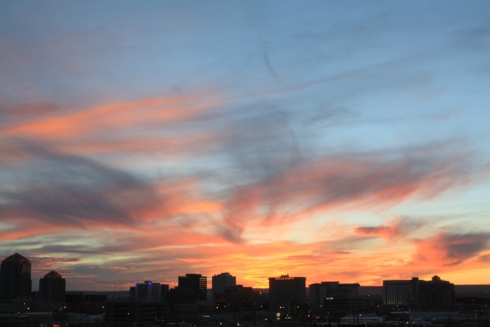 Good To Grow, Liza's photos, Albuquerque at sunset