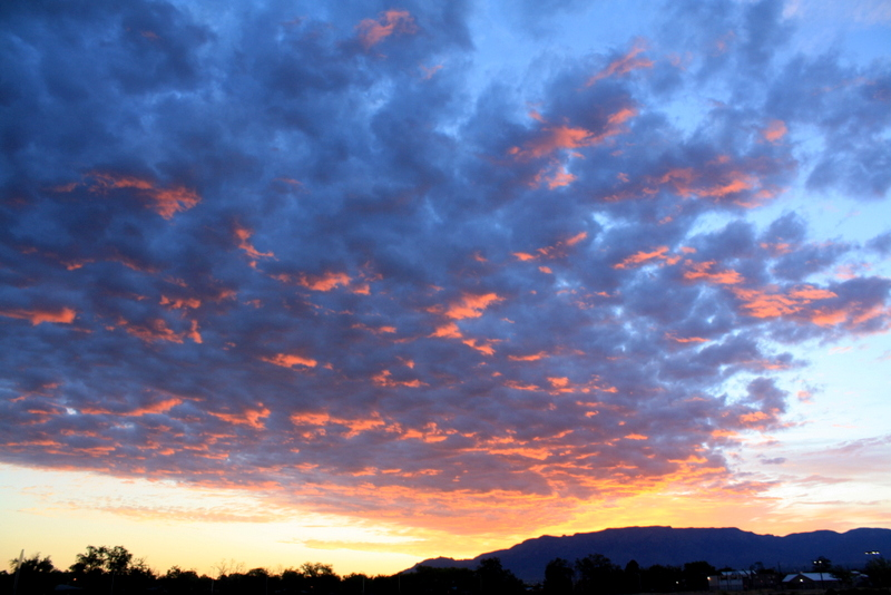 Sunrise over the sandia mountains good to grow good to grow lizas photos sunrise in albuquerque sciox Choice Image