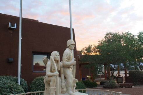 Good To Grow, Liza's photos, Indian Pueblo Cultural Center Statue