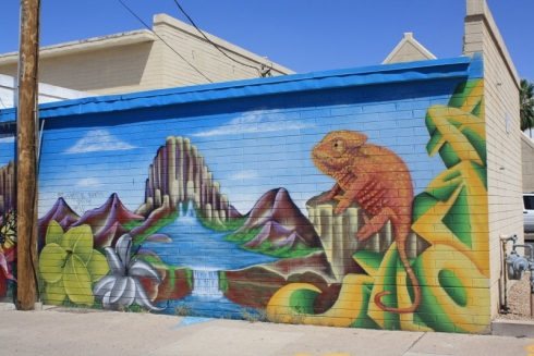 Good To Grow, Liza's photos, cool mural in downtown Phoenix