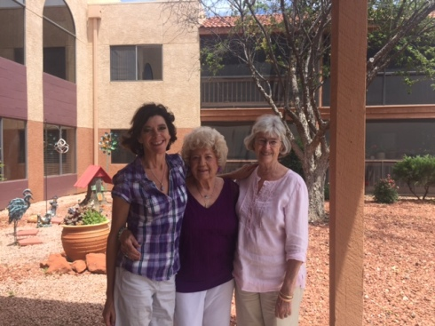 Good To Grow, Liza's photos, Me, Dottie and Mom